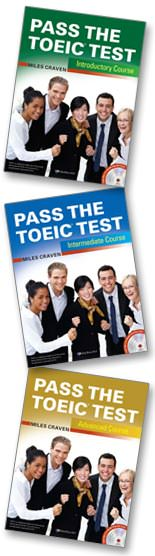 Pass the TOEIC test Books